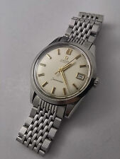 OMEGA SEAMASTER VINTAGE CLASSIC WATCH, AUTOMATIC, 35MM, STAINLESS STEEL + BAND!