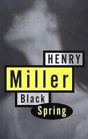 Black Spring: By Miller, Henry