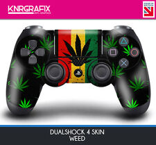 KNR6424 PREMIUM WEED PS4 DUALSHOCK 4 SKIN DS4 STICKER