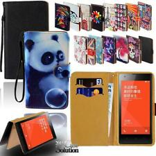 Flip Leather Card Wallet Stand Cover Phone Case For Xiaomi Redmi 1 2 3 4 5 6 7 8