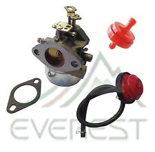Tecumseh 640349 640052 640054 LH318SA LH358SA Carburetor Primer & Fuel Filter
