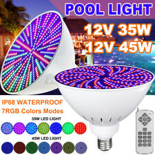Color Change Led Swimming Pool Light Bulb 45W/35W Fits Pentair/Hayward Fixture