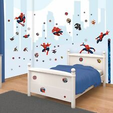 Walltastic Ultimate Spiderman Room Decor Kit Stickers Spider Man New