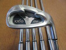 USED XXIO Golf Japan 5-PW Iron Set N.S PRO 950GH steel shaft Stiff Flex Men's