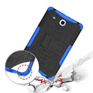 """For Samsung Galaxy Tab E 9.6"""" T560NU T560/561 TPU Tablet Case Bracket Back Cover"""