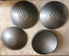 VW BUG Wheel Hub Cap Center Cover 4pcs GRAY VOLKSWAGEN BEETLE TYPE2 GUIA 5lug