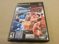 WWE SmackDown vs. Raw 2007 PS2 (Sony PlayStation 2, 2006) Complete