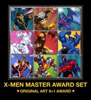 Topps Marvel Collect Digital Card X-MEN Borkowski Orig Art Wolverine AWARD SET
