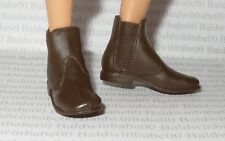 KEN SHOES ~ MATTEL MODEL MUSE DOLL BROWN JURASSIC WORLD OWEN ANKLE BOOTS