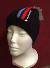 PUMA BMW Motorsport Team M Power Series Blue Beanie Winter Ski Hat NEW