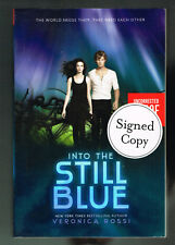 Into The Still Blue Veronica Rossi Signed Advance Uncorrected Proof in Wrappers