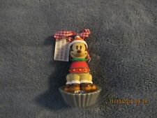 Walt Disney World Pluto Christmas Ornament Gingerbread Bobbles