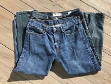 LEVI's 550 Denim Jeans RELAXED FIT 2 Pair 36 x 30