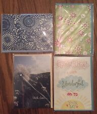 Usborne Blank Greeting Cards - Lot Of 4