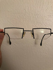 Theo Breaststroke black glasses frames- from Belgium