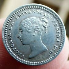 More details for silver threehalfpence coin 1843 victoria high grade
