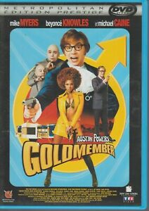 Austin Powers Goldmember Dvd Mike Myers Beyonce Michael Caine