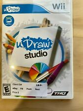 Wii EA Games uDraw Studio Rated E Required uDraw Game Tablet THQ