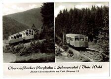 AK - Oberweißbacher Bergbahn i. Schwarzatal/Thür. Wald (1963)