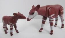 Playmobil Mother & baby okapi NEW zoo/African wildlife/safari animals