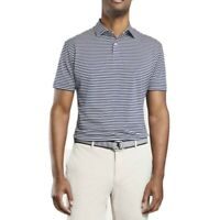 Peter Millar Crown Crafted Miles Stripe UPF 50+ Performance Polo Men's Size XS-S