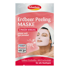 Schaebens - Face Mask / Masque - Strawberry AHA - Peeling - Original Germany