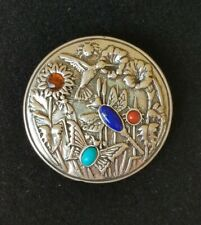 Carolyn Pollack Sterling Silver 925 Dragonfly Butterfly Bird Pin brooch Pendant