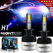 Nighteye H1 72W 9000LM Headlight LED Light Kit Car Bulbs Lamp 6500K Xenon White