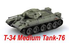 Easy Model 1/72 Russian Army T-34/76,1942 Tank Plastic Model #36265