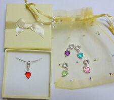 Markenlose Modeschmuck-Halsketten aus gemischten Metallen mit Herz-Schliffform