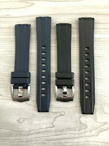 Omega Seamaster 300 20MM Replacement Rubber Watch Strap Band w/ Buckle
