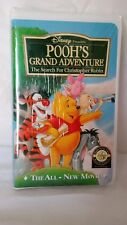 Pooh's Grand Adventure The Search For Christopher Robin (VHS, 1997)