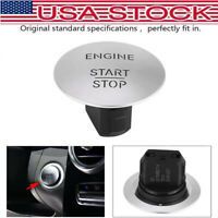 Push To Start Button Keyless Go Engine Stat Stop Push Button Fit Mercedes Benz
