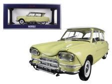 NOREV 1/18 1964 Citroen Ami 6 Diecast Model Car Yellow (181535)