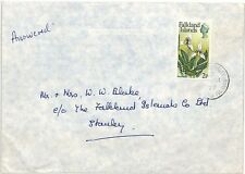 SS149 1977 FALKLANDS to GB Surrey Richmond Commercial Airmail