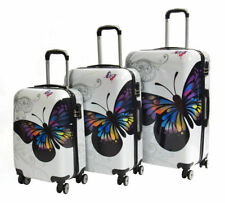 Women's Wheels/Rolling Suitcases with Hard