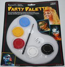 Mehron Fantasy FX Party Palette face paint makeup kit clown costume artist event