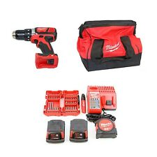 Milwaukee 2606-22CTP M18 18V 1/2-inch 1.5 Ah Cordless Drill/Driver Kit +Bonus