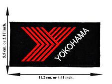 Yokohama Tires Racing Biker Car Motrosport Logo Applique Iron on Patch Sew