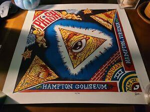 Phish 2003 Hampton Coliseum Jim Pollock Art Print 741/750