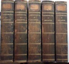 Correspondance de René Descartes, 5 vol., 1897-1903