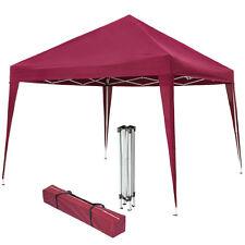 Gazebo pieghevole da giardino tendone fisarmonica tenda per festa eventi 3x3 ros