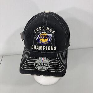 NEW! 2009 Los Angeles Lakers NBA Championship Hat Adidas Kobe Cap 15 Times OSFA