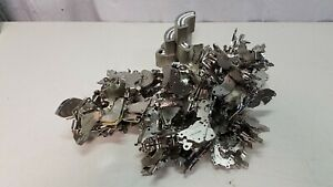 Lot of Hard Drive Scrap Magnets on mounts * Rare Earth * SUPER STRONG *  35LBS