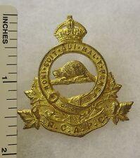 ORIGINAL WW2 Vintage ROYAL CANADIAN ARMY PAY CORPS CAP BADGE