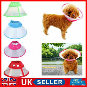 Dog Cat Wound Recovery Cover Pet Anti-Bite Lick Medical Circle Cone Collar