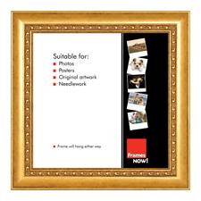 Premium Ornate Gold Square Picture Frame for 30.5 x 30.5cm Artwork
