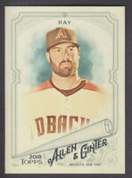 Topps - Allen & Ginter 2018 - Base # 52 Robbie Ray - Arizona Diamondbacks