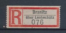 72692) Dt.Reich Reco-Zettel Branitz über Leobschütz
