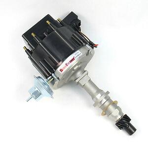 PerTronix D1200 Flame-Thrower Distributor HEI Pontiac 301-455 Black Cap